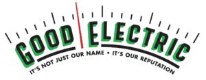 Logo for Good Electric - It's not just our name. It's our reputation.